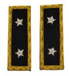 Union Major Generals Coat Shoulder Boards